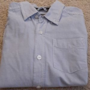 Kids long sleeve button down shirt
